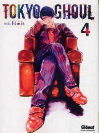 Tokyo ghoul T4, manga chez Glénat de Ishida
