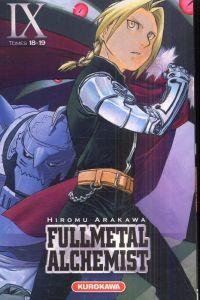 Fullmetal Alchemist - edition double T9, manga chez Kurokawa de Arakawa