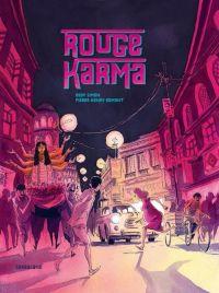 Rouge Karma : , bd chez Sarbacane de Simon, Gomont