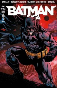 Batman Saga T22 : , comics chez Urban Comics de Simone, Tomasi, Tynion IV, Layman, Florea, Rodriguez, Jonsson, Gray, Fabok, Maleev, Clarke, Masters, Irwin, Cifuentes, Gleason, Richards, Glapion, Sampere, Anderson, Fairbairn, Cox, Blond, Smith, Kalisz, Juancho