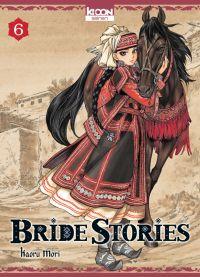 Bride stories T6, manga chez Ki-oon de Mori