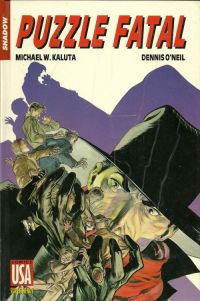 The Shadow T22 : Puzzle fatal (0), comics chez Glénat de Kaluta, O'neil, Lee, Kindzierski