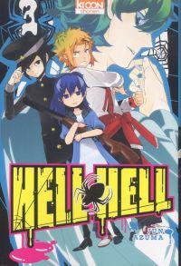 Hell hell  T3, manga chez Ki-oon de Azuma