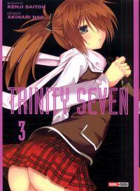 Trinity seven T3, manga chez Panini Comics de Nao, Saitô