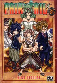 Fairy Tail T36, manga chez Pika de Mashima