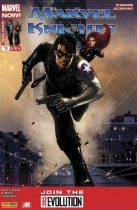 Marvel Knights T13 : Tirs croisés (0), comics chez Panini Comics de Waid, Brubaker, Way, Noto, Guice, Samnee, Breitweiser, Guru efx, Rodriguez, Epting