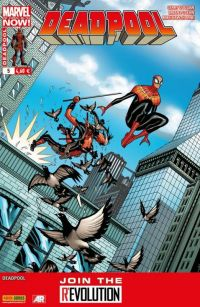Deadpool (revue) – V 4, T5 : Huit coups de pied aux fesses (0), comics chez Panini Comics de Posehn, Duggan, Hawthorne, Staples, Moore