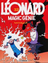 Léonard T32 : Magic génie (0), bd chez Le Lombard de de Groot, Turk, Kael