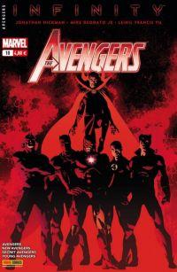 The Avengers (revue) T10 : La semence de Thanos (0), comics chez Panini Comics de Hickman, Gillen, Spencer, Maberry, Norton, McKelvie, Yu, Guice, Cariello, Deodato Jr, Sotomayor, Martin jr, Gho, Wilson