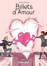 Billets d'amour, bd chez Delcourt de Ronzeau