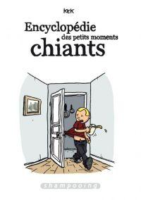Encyclopédie des petits moments chiants, bd chez Delcourt de Kek