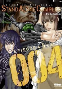 Ghost in the Shell - Stand alone complex  T4, manga chez Glénat de Shirow, Kinutani