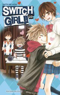Switch girl  T23, manga chez Delcourt de Aida