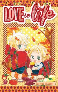 Love so life T8, manga chez Delcourt de Kouchi