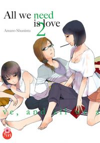 All we need is love T2, manga chez Taïfu comics de Shuninta