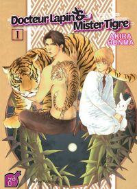 Docteur Lapin & Mister Tigre T1, manga chez Taïfu comics de Honma