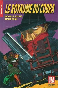 The Shadow T24 : Le royaume du Cobra, comics chez Glénat de Kaluta, Wrightson, Kindzierski