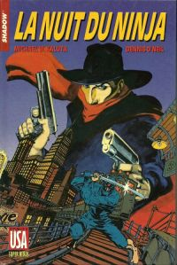 The Shadow T26 : La nuit du Ninja, comics chez Glénat de O'neil, Kaluta
