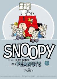 Snoopy et le petit monde des Peanuts T1, comics chez Delcourt de Schulz, Svart