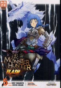 Monster hunter flash T5, manga chez Kazé manga de Yamamoto, Hikami