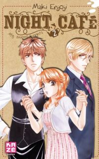 Night café - My sweet knights T2, manga chez Kazé manga de Enjoji