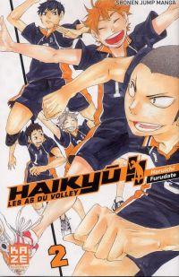 Haikyû, les as du volley T2, manga chez Kazé manga de Furudate