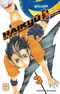Haikyû, les as du volley T3, manga chez Kazé manga de Furudate