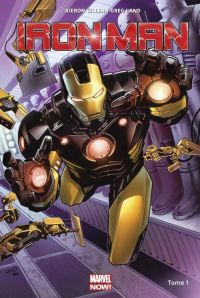 Iron Man T1 : Croire (0), comics chez Panini Comics de Gillen, Land, Guru efx