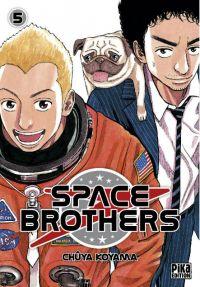 Space brothers T5, manga chez Pika de Koyama
