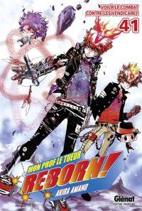 Reborn ! Mon prof le tueur T41 : Voilà le combat contre les Vendicare ! (0), manga chez Glénat de Amano