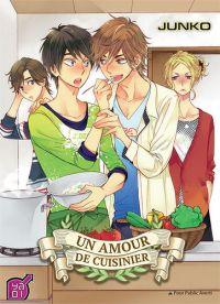 Un amour de cuisinier , manga chez Taïfu comics de Junko