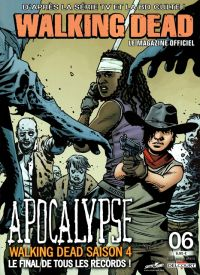 Walking Dead – Le magazine officiel, T6, comics chez Delcourt de Kirkman, Collectif, Adlard, Gaudiano