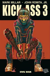 Kick-Ass – cycle 3, T1 : Civil war (0), comics chez Panini Comics de Millar, Romita Jr, White