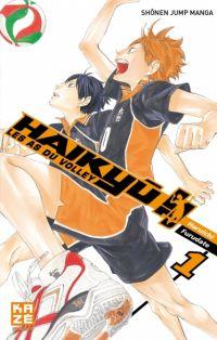 Haikyû, les as du volley T1, manga chez Kazé manga de Furudate