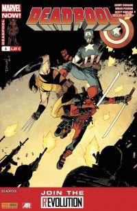 Deadpool (revue) – V 4, T6 : Le retour de l'homme blanc (0), comics chez Panini Comics de Duggan, Posehn, Shalvey, Koblish, Bellaire, Staples