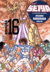 Saint Seiya Deluxe T16, manga chez Kana de Kuramada