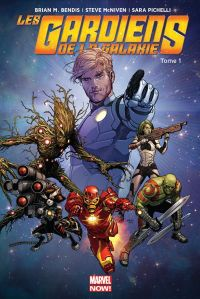 Les Gardiens de la Galaxie (vol.3) T1 : Cosmic Avengers (0), comics chez Panini Comics de Bendis, McNiven, Pichelli, Oeming, Del Mundo, Doyle