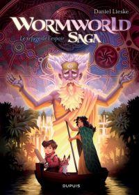 Wormworld saga T2 : Le refuge de l'espoir, comics chez Dupuis de Lieske