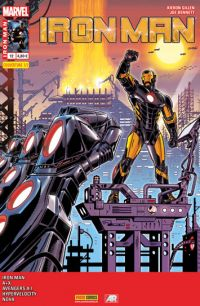 Iron Man (revue) – V 2, T12 : Iron Metropolitan (0), comics chez Panini Comics de Gillen, Humphries, Wells, Duggan, Warren, Bennett, Barbieri, Lopez, Keown, Denham, Araujo, Medina, Curiel, Hollowell, d' Armata, Guru efx, Rivoche, Sorayama