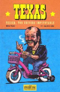 Texas T1 : Texier, ton univers impitoyable (0), comics chez Vide Cocagne de Texier