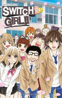 Switch girl  T24, manga chez Delcourt de Aida