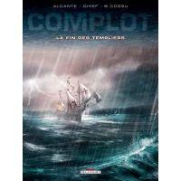 Complot T2 : La fin des templiers (0), bd chez Delcourt de Alcante, Gihef, Cossu, Guillo, Sentenac