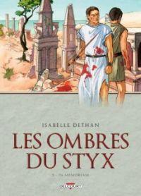 Les Ombres du Styx T3, bd chez Delcourt de Dethan