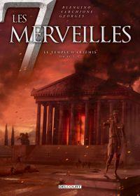 Les 7 merveilles T4 : Le temple d'Artemis (0), bd chez Delcourt de Blengino, Sarchione, Georges, Rebuffat