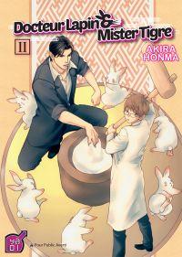 Docteur Lapin & Mister Tigre T2, manga chez Taïfu comics de Honma