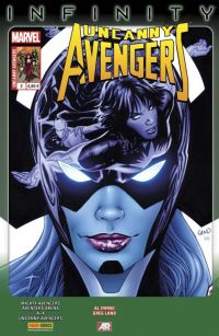 Uncanny Avengers (revue) – V 2, T2 : Les gens changent (0), comics chez Panini Comics de Benson, Ewing, Remender, Gage, Hopeless, Land, Texeira, Walker, Moline, Acuña, Williams, d' Armata, Beaulieu, Loughridge, Gandini