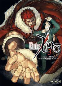 Fate Zero T3 : , manga chez Ototo de Type-moon, Shinjirô, Urobochi