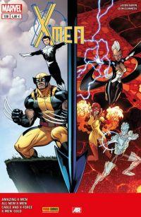 X-Men (revue) – V 4, T12 : L'age d'or (0), comics chez Panini Comics de Aaron, Claremont, Bendis, Hopeless, McGuinness, Sandoval, Peterson, McLeod, Silva, Gracia, Rosenberg, Coipel