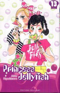 Princess jellyfish T13, manga chez Delcourt de Higashimura