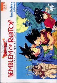 Dragon Quest - Emblem of Roto T3, manga chez Ki-oon de Fujiwara